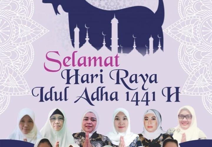 Pengurus IKIAD Kab. Bogor mengucapkan Selamat Hari Raya Idul Adha 1441 H
