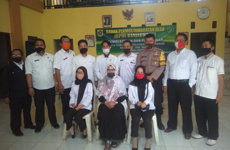 Rapat Pembentukan dan Pelantikan Panitia Pilkades Desa Banjarwangi