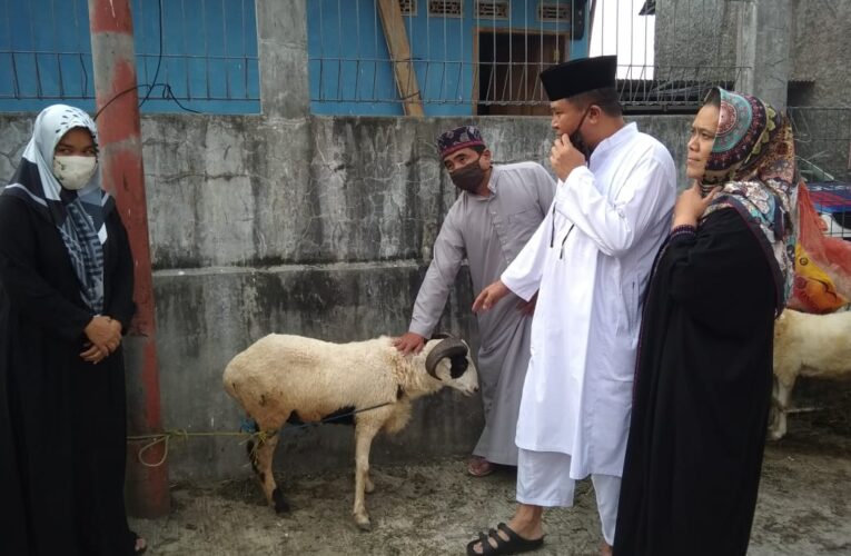 Hari Raya Idul Adha 1441 H.Usep Supratman, SH. MH Qurban 10 Ekor Kambing dan 1 Ekor Sapi