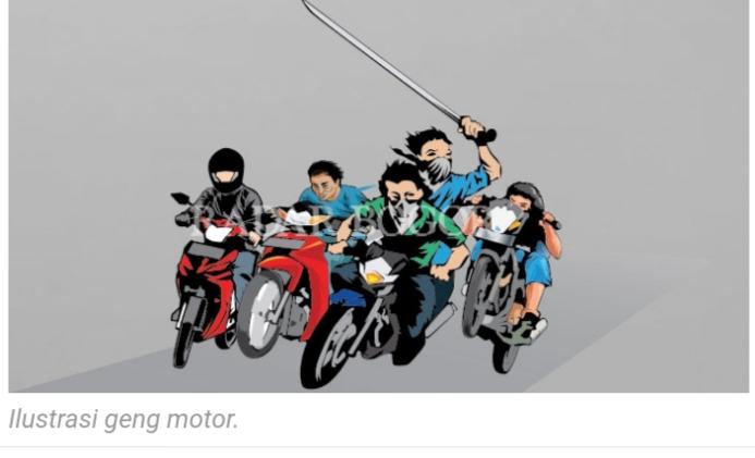 Segerombolan Geng Motor Kembali Resahkan Warga Bogor Barat