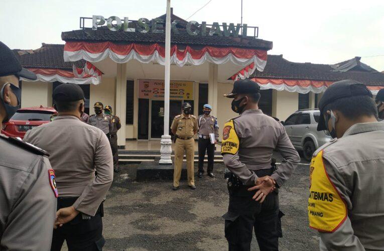 Kompol Syahroni Pimpin Ops Stasionar di Wilkum Polsek Ciawi