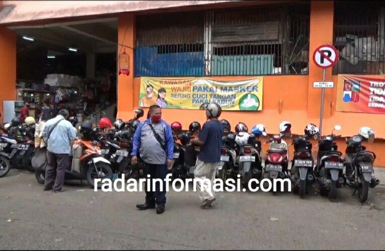 Diduga Banyak Oknum Bermain dalam Pengelolaan Parkir Liar Pasar Bogor