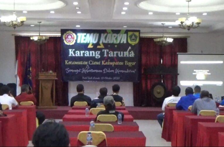 Sinergitas Karang Taruna dan Pemerintah Kecamatan Ciawi Modal Utama Wujudkan Kabupaten Termaju